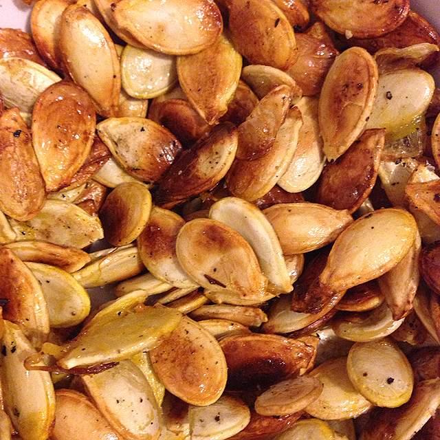 graines de potiron grillées