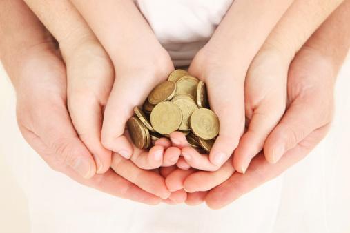 enfants et budget (getty image)