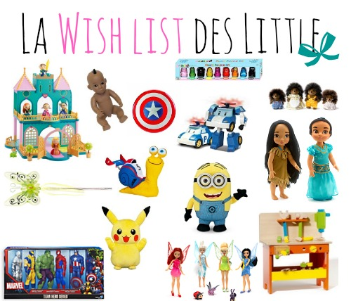 wish list de noel des little