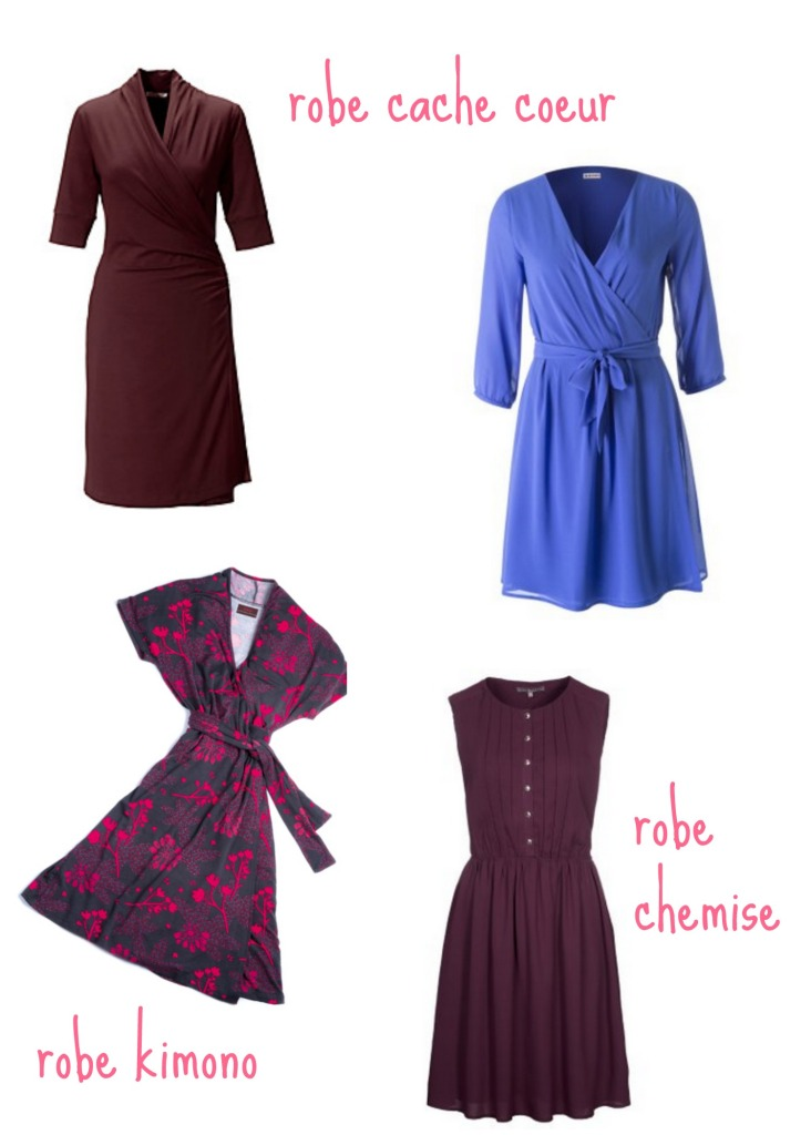 robes et allaitement