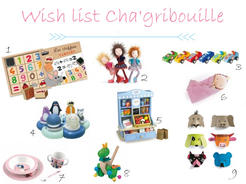 wish list cha'gribouille