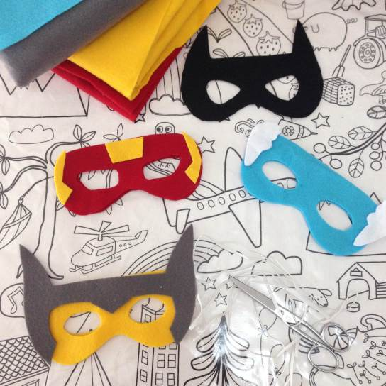 diy masques super-héros