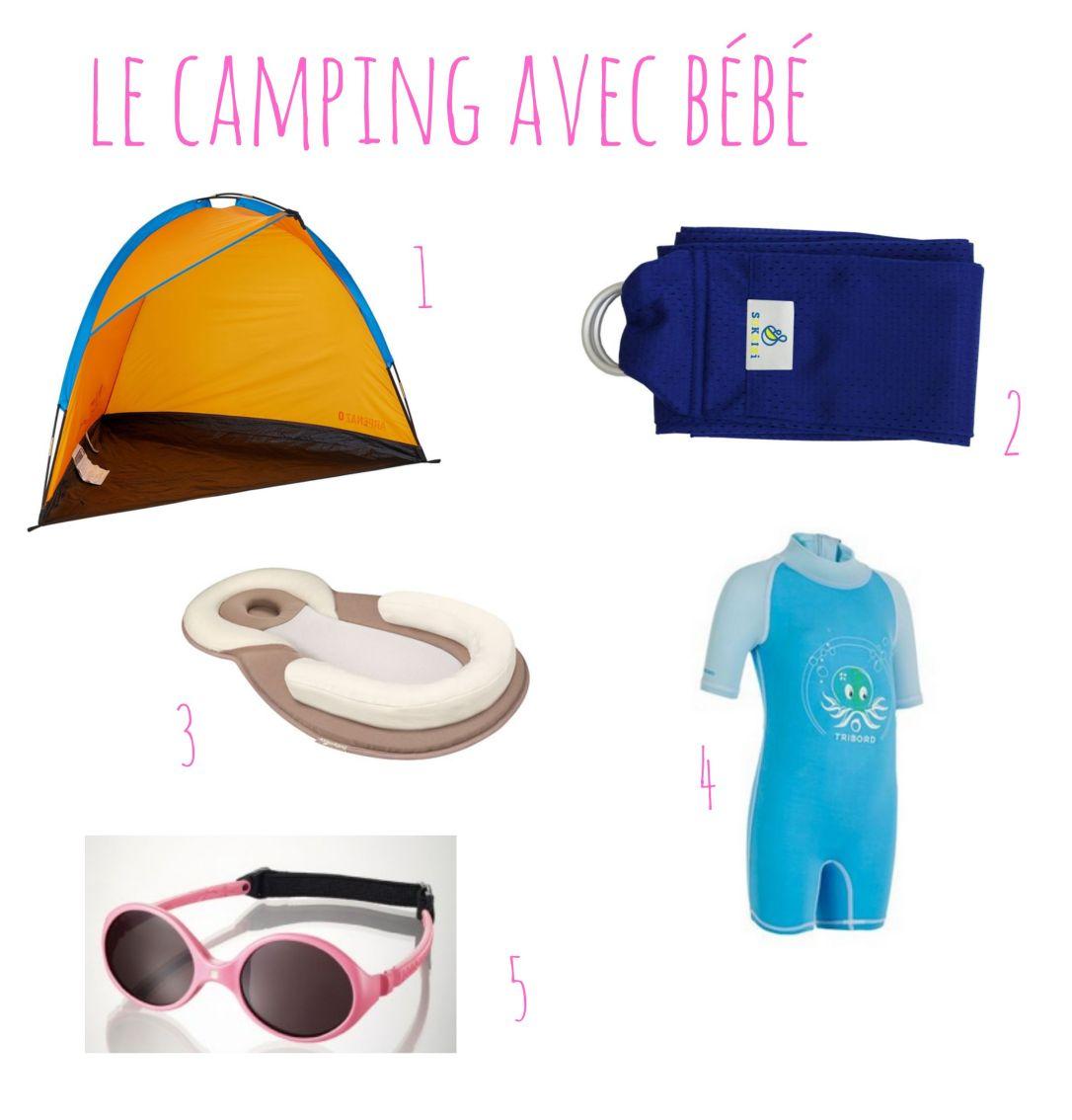 le camping avec bébé