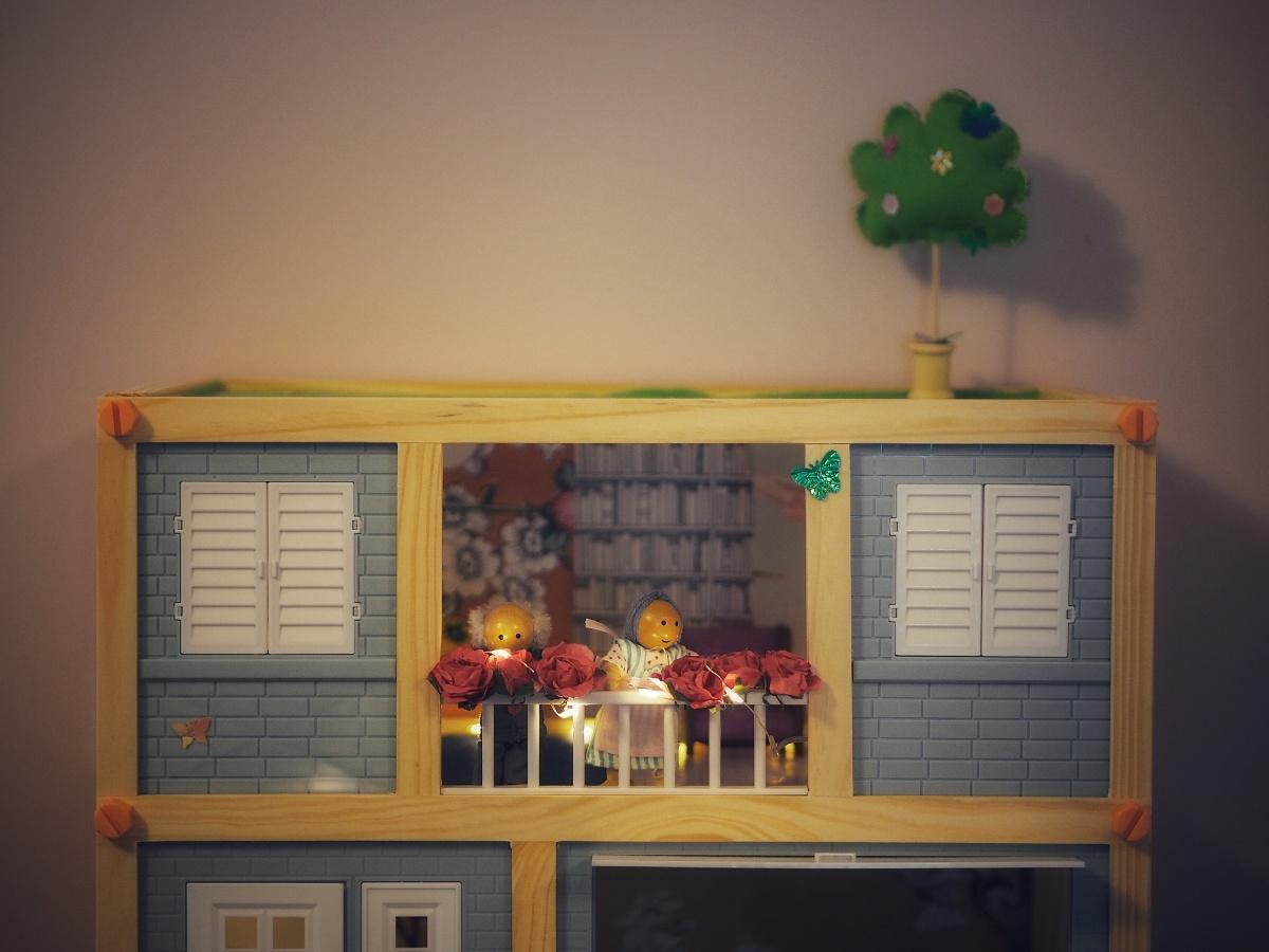 Relooking de la maison de poupées Lidl